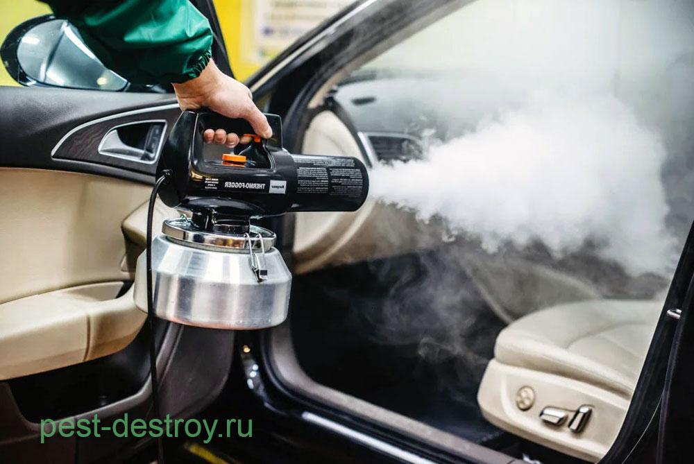 Дезодорация автомобиля